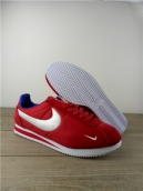Women Nike Cortez White Red Blue