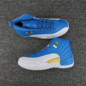 AAA Air Jordan 12 Blue White