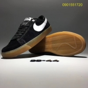 Nike Blazer Low Black White