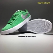 Nike Blazer Low Green Silvery