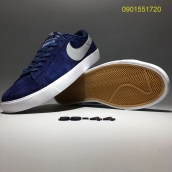 Nike Blazer Low Navy Blue