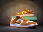 Women Nike SB Zoom Dunk Low Pro Brown White