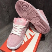 Women Nike Dunk Low GS Prism Pink White