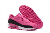 Women Nike Air Max 90 Woven Black Pink
