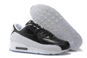 Women Nike Air Max 90 Woven White Black