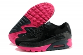 Women Nike Air Max 90 Black Pink