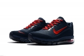 Air Max 2017 Navy Blue Red
