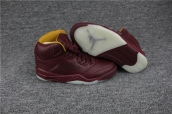 AAAA Air Jordan 5 Wine Red