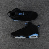 AAA Air Jordan 6 Black Blue