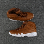 AAA Air Jordan 9 Weave Brown