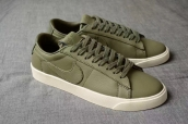 Women NikeLab Blazer Studio Low Green