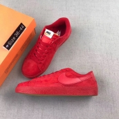 Women Nike Blazer Low Prm Vntg All Red