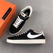 Women Nike Blazer Low Prm Vntg Black White