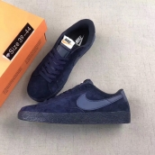 Women Nike Blazer Low Prm Vntg Navy Blue
