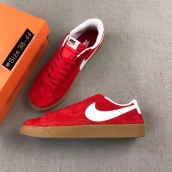Women Nike Blazer Low Prm Vntg Red White