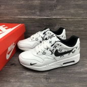 Nike Air Max 1 Custom LV Sup White Black