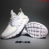 Nike Air Huarache Ultra 4 Flyknit ID All White