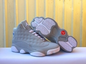 Women AAA Air Jordan 13 Grey