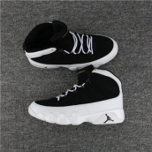 AAA Air Jordan 9 Black White