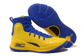 Under Armour Curry 4 Blue Yellow