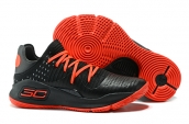Under Armour Curry 4 Low Black Red