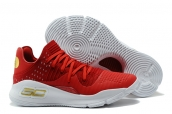 Under Armour Curry 4 Low Red