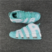 Air More Uptempo White Blue
