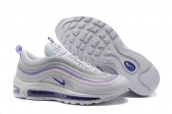 Women Nike Air Max 97 White Grey Purple