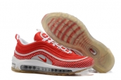Women Nike Air Max 97 White Red
