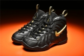 Nike Kids Air Foamposite Pro Black Gold