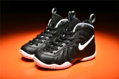 Nike Kids Air Foamposite Pro Black White