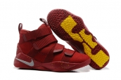 Nike Lebron Zoom Soldier 11 Wine Red Orange