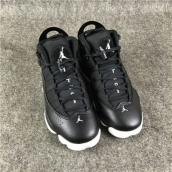Air Jordan 6 Rings Women Black