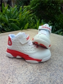 Air Jordan 13 Kids White Red