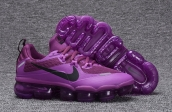 Women Nike Air Vapormax Flyknit Purple Black