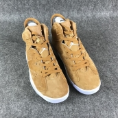Perfect Air Jordan 6 Wheat