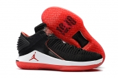 Air Jordan 32 Low Red Black