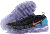 Women Air Max 2018 II Black Blue Orange