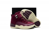 Air Jordan 12 Kids Wine Red