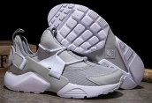 Women Nike Air Huarache 5 Grey White