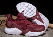 Women Nike Air Huarache 5 Wine Red
