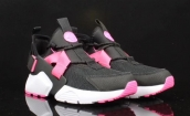 Women Nike Air Huarache 5 Black Pink