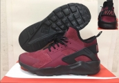 Women Nike Air Huarache Sueded Wine Red