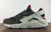 Nike Air Huarache Run Premium Dark Green