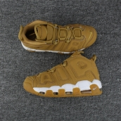 Women Nike Air More Uptempo Wheat