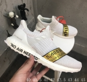 Perfect Adidas Off White Ultraboost Uncaged White Gold