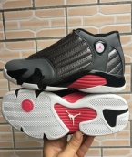 AAA Air Jordan 14 Black Grey Pink