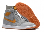 AAA Air Jordan 1 Flyknit Wolf Grey