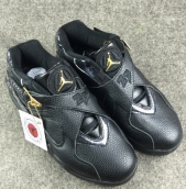 Perfect Air Jordan 8 Black Gold