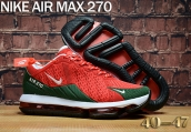 Air Max 270  Red Green
